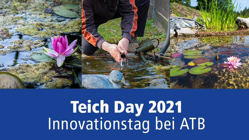 TeichDay 2021 - Innovationstag bei ATB