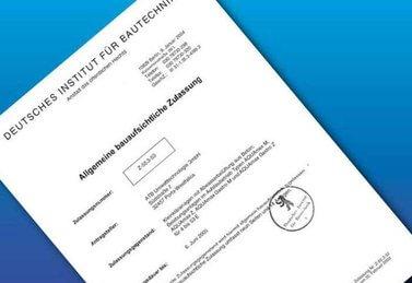 AQUAmax® erhält als 1. Kleinkläranlage in Deutschland die allgemeine bauaufsichtliche Zulassung für Nitrifizierung.