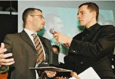 ATB Umwelttechnologien GmbH aus Porta Westfalica/Vlotho als GründerChampion 2002 für das Land Nordrhein-Westfalen ausgezeichnet.