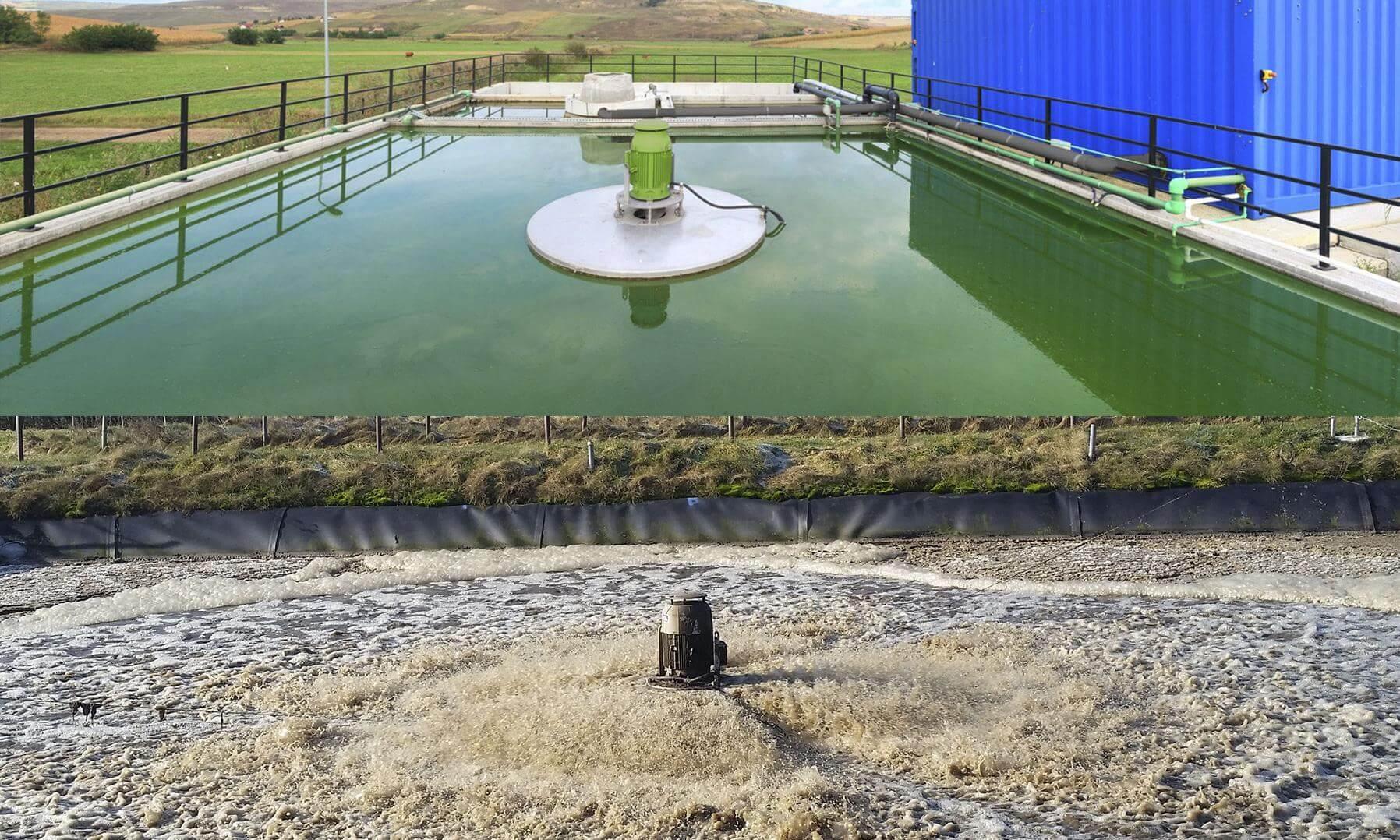 Kläranlagenkomponenten und Lösungen für die Abwasserreinigung