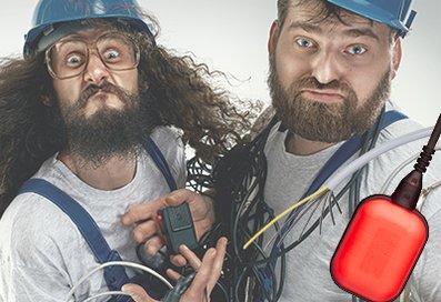 Zwei Männer mit unserem Elektrozubehör