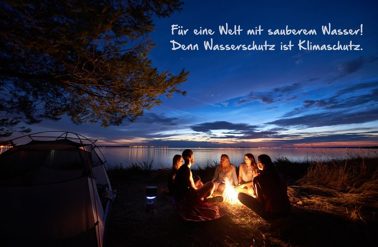 Camping am Lagerfeuer