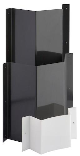 Ablaufschikane/Tauchwand aus Kunststoff Höhe 32 cm