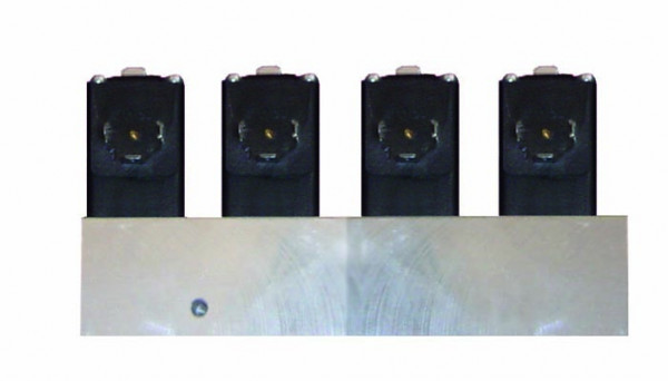 Luftverteilerleiste 4-fach