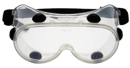 Vollsichtbrille aus Weich-PVC