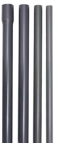 PVC-Druckrohr 50 mm x 2,4 mm, 10 bar