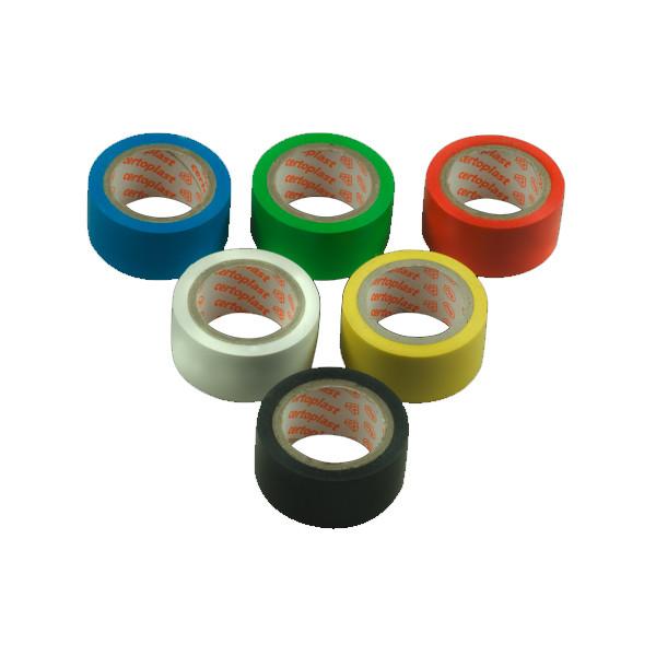 Isolierband 6 Rollen, farbig sortiert
