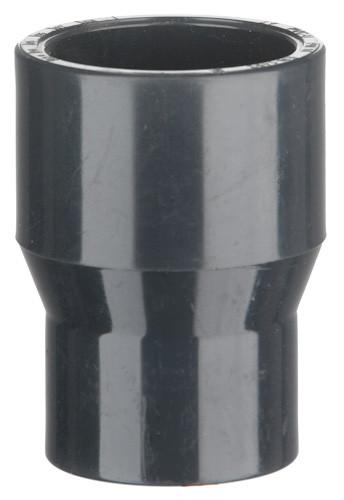 PVC-Reduziermuffe, 16 bar 50/40 x 40 mm, 1 x Klebestutzen/-muffe, 1 x Klebe
