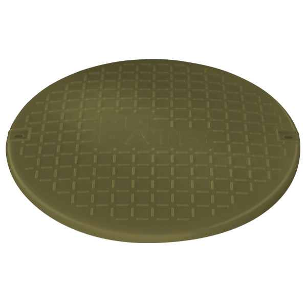 Deckel ATB-Universalschacht olivgrün