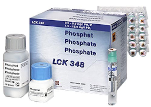 Küvettentest LCK 348 Phosphat 0,5 - 5 mg/l