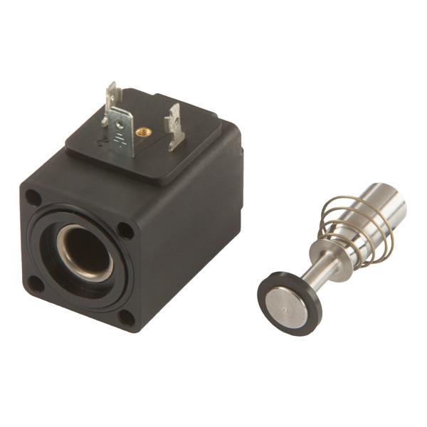 Magnetspule mit Stössel/Feder 2/2 ,DN 13, V2