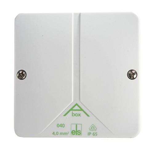 Abzweigdose ohne Klemmen und Kabel aBox 060