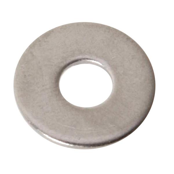 U-Scheiben Edelstahl DIN 125 A2 5,3mm, Außen-Ø 10 mm