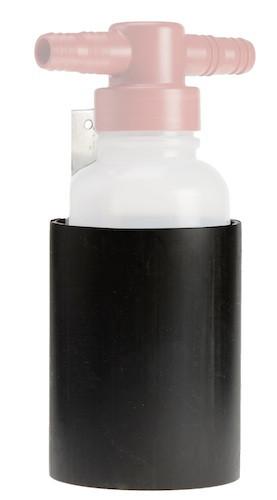 Halter für Probenahmeflasche