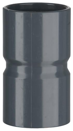 PVC-Muffe, 10 bar 50 x 50 mm, 2 x Klebemuffe