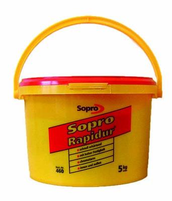 Schnellmontagemörtel Sopro Rapidur 5 kg