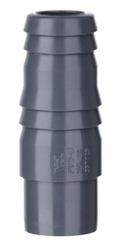 PVC 1/3 Tülle mit Klebestutzen 40 x 43 x 40 mm