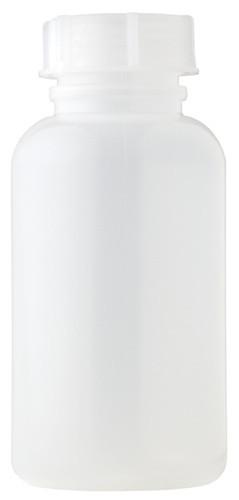 Weithalsflasche mit Deckel 250 ml