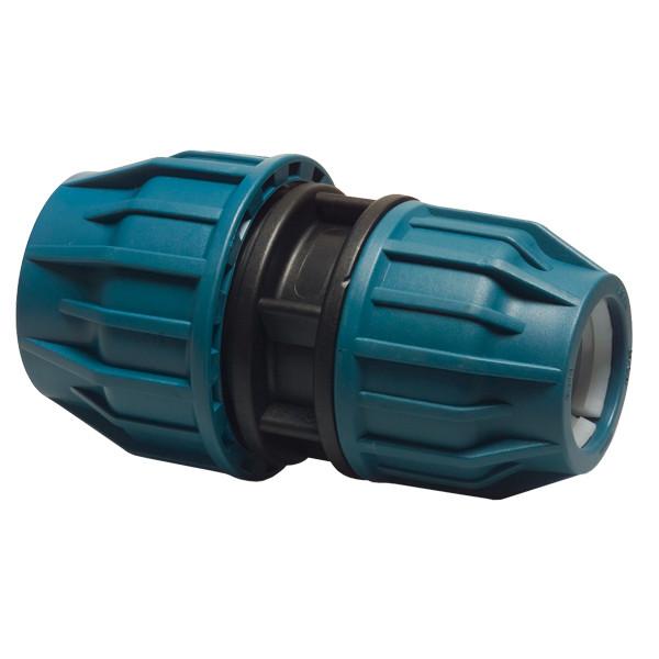 PP Reduzierkupplung / 16 bar 50 mm x 40 mm